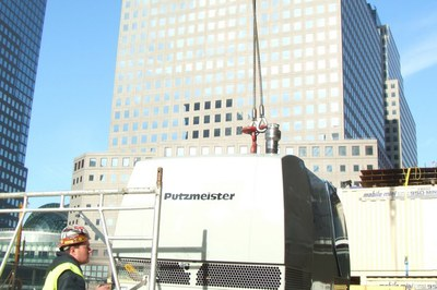 DYNAJET at Ground Zero in New York