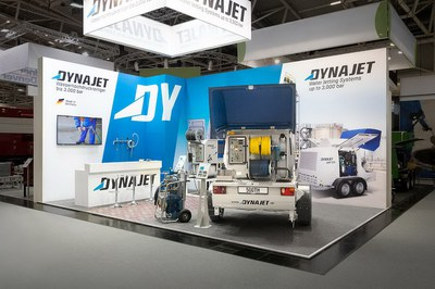 DYNAJET at the IFAT 2018 trade fair
