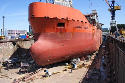 DYNAJET renovates one of the largest offshore ships in the world
