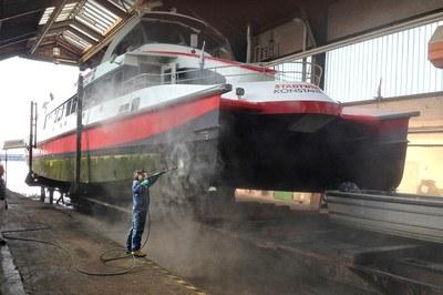 Katamaran-Reederei Bodensee trusts in DYNAJET