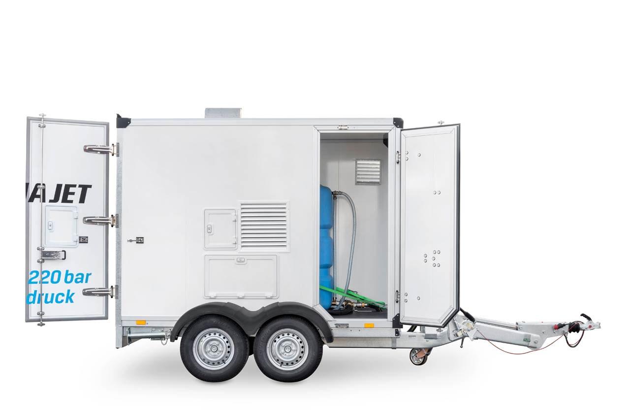 DYNAJET mdh trailer installation Anhängerinstallation