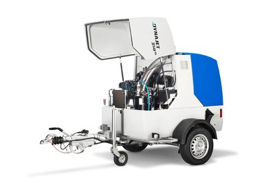 Automatic shutdown of the high-pressure cleaner caused by lack of water