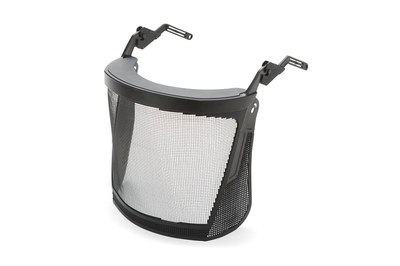 Face shield made of stainless steel EN 1731, für Helm 427305
