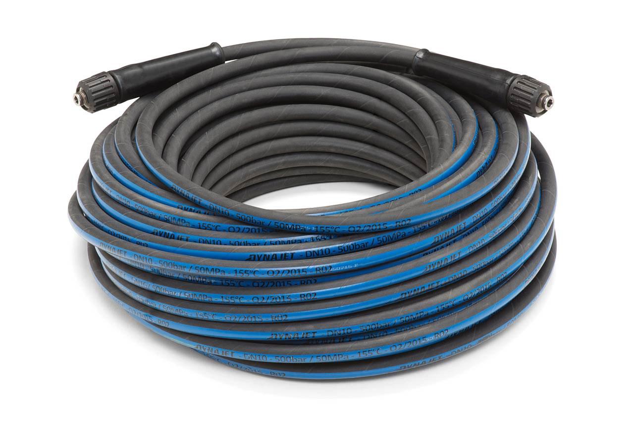 HP-extension hose 50M DN10 1x M24 1x90°