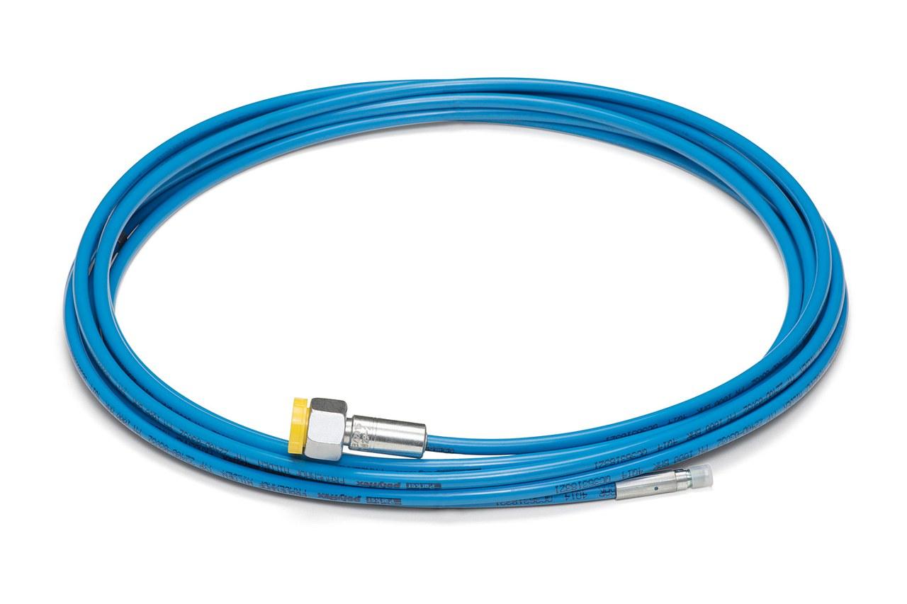 Flexible lances 1000 bar, 10m, 10,5mm M7 e.t.