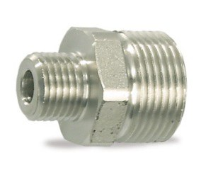 "Counter nipple M22x1,5 e.t.-1/4"" 500bar"