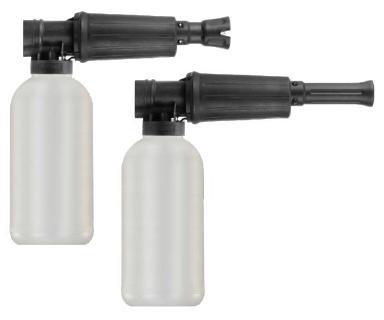 Foam Lance M22x1,5 e.t. 300bar max. 80°C inkl. 2l-Flasche