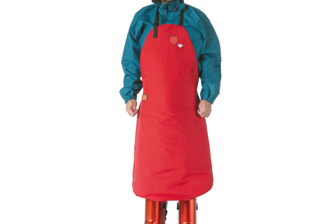 High-pressure apron 500/500/200 bar