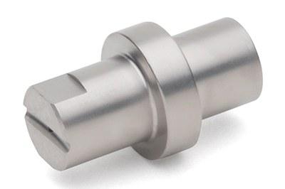 Flat jet nozzle shape D 1,2 15°